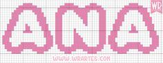 WR Artes (Blog do Wagner Reis): Alfabeto LINDO para bebês em ponto cruz