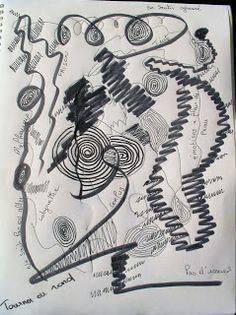 ATELIERS DE JOURNAL CREATIF: Comment évacuer vos frustrations avec le journal c... Organisation Journal, Art Plastique, Deathly Hallows Tattoo, Lettering, Bujo, Creations, Bullet Journal, Graphic Design, My Love