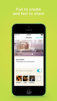 """...more examples of great UI design - Animoto - """"Turn your camera roll into beautiful, pro-quality videos. Choose your music, photos, and clips and share amazing videos with your family and friends."""" / #uiex"""