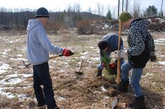 Watershed Forestry~Earth Day 2011 by WatershedCenter, via Flickr