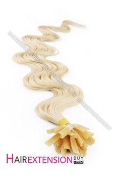16 Inch - 26 Inch Body Wave Nail Tip Human Hair Extensions Fusion Hair Extensions, Human Hair Extensions, Wave Nails, Body Wave, Nail Tips, Hair Color, Haircolor, Hair Extensions, Colored Hair