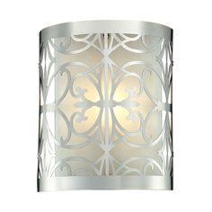 Willow Bend 1 Light Vanity In Polished Chrome 11430/1
