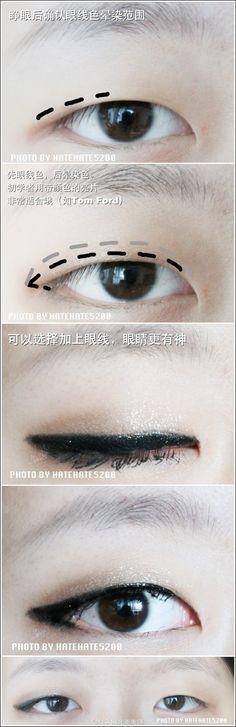 Monolid eyeliner tutorial