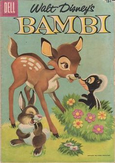 Day 16 - Favorite Classic - Bambi.  It's adorable and never fails to make me laugh and cry.