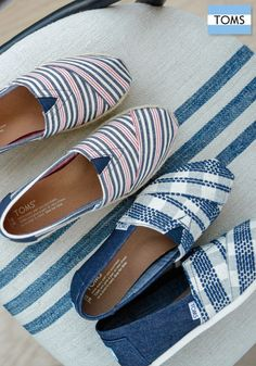 Check out TOMS new Classics to put you in the giving mood.