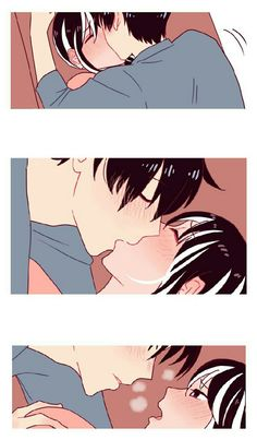 Manga Couple, Anime Love Couple, Cute Anime Couples, Manga Art, Manga Anime, Anime Art, Hanekawa Tsubasa, Cute Couple Drawings, Baguio