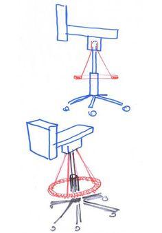 Chaise 360° - Konstantin Grcic