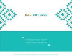 """Check out new work on my @Behance portfolio: """"BALI COTTAGE"""" http://be.net/gallery/53364799/BALI-COTTAGE"""