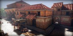Roman City, Level Homes, Asset Store, Art Logo, Terms Of Service, Creative Art, Unity, Rome, 3d