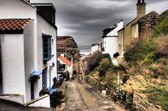 View down Church Street Staithes by Tim Barber www.realyorkshiretours.co.uk