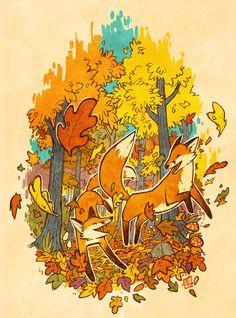 Autumn Eternal by *KerriAitken on deviantART