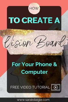 Use a DIY vision board on your spiritual journey. Use this free vision board training to DIY a digital vision board that can be used for your mobile phone background and computer wall paper. Spiritual Development, Personal Development, Digital Vision Board, Creating A Vision Board, Subconscious Mind, Life Purpose, Life Motivation, Law Of Attraction, Self Help