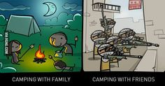 Campers need pampers