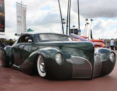 1941 Lincoln Coupe Zephyr (custom) • photo: Steve Sexton on Flickr