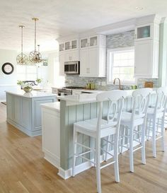 Image result for modern country kitchen cabinets