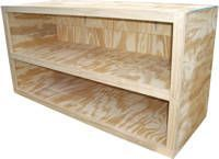 Learn the basics of cabinet making with these free woodworking plans from About Woodworking