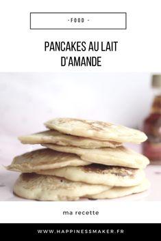 Découvrez ma recette facile, rapide et savoureuses des pancakes au lait d'amande ! Parfaits pour un petit déjeuner gourmand !