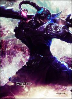 League of Legends: Master Yi Headhunter by SechsGraff.deviantart.com on @deviantART