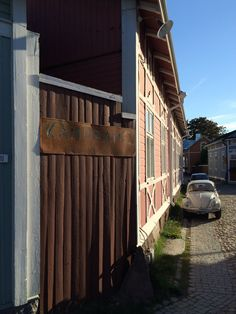 Vanha Rauma / old Rauma, Finland.  Peaceful walks in a very well preserved UNESCO sanctioned old town.