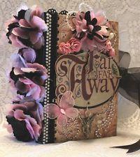 FAR & AWAY adventure FANTASY fairy premade SHABBY scrapbook album