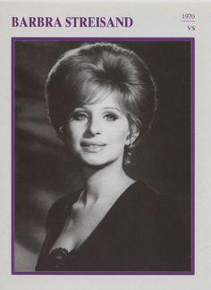 Barbra Streisand - American Actress Film/Movie/Cinema Trading Card | eBay
