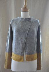Audrey Cardigan top down  pattern - worsted weight, US8, pay pattern by Isabell Kraemer