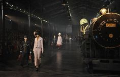 From McQueen to Chanel: The 10 Most Outrageous Runway Sets | StyleCaster News