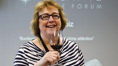 Sarah Jane Evans, experta en vinos españoles y en chocolates, es una de las invitadas al Atlante Wine Forum celebrado en Vigo