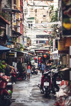 Old Saigon, Vietnam