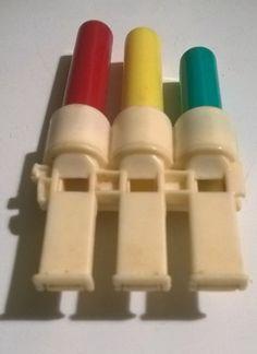 VTG LOT 2 1988 Kellogg/'s Cereal Prize Toys Flutes Whistles Premium 80s