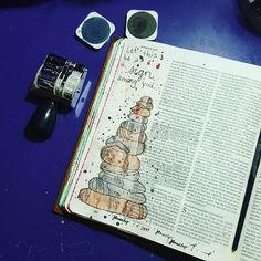 Bible journaling  My husband and I have spent many nights wondering if these stones are still there. It'd be pretty cool if they were. #Joshua 4 #biblejournaling #illustratedfaith #journalingbible #artworship #arttherapy #art #watercolor #watercolors #12stones #inspiredbypearandink #Homeworkfun @pearandink
