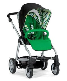 Mamas and Papas - SOLA, I admit I chose this stroller because of the pattern/colors.
