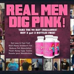 It's NOT just for the Ladies...The Gentlemen Dig it too!!!!! C'mon now I know a few men who Like Pink !!! LOL  www.befitbehealthywithambershultz.com  #quitthediets #fitdads #dads #parents #superdads #healthy #getfit #loseweight #weightloss #weight #heavy #fat #fatloss #getit #order #gethealthy #gainmuscle
