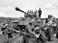 Soldiers of the 5th SS Panzer Division Wiking engage the Soviet Army in battle in Kowel. Kowel was captured by Soviets in July 1944. In 1945, Poland's borders were redrawn and the Polish population was forcibly resettled and the town was incorporated into the Ukrainian Soviet Socialist Republic. Kowel, Wołyń Voivodeship, Poland (now, Kovel, Volyn Oblast, Ukraine). March 1944.