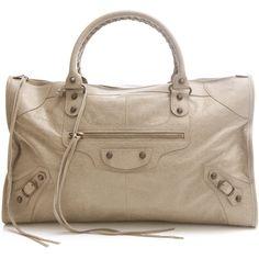 Balenciaga bags BEIGE (5.140 BRL) ❤ liked on Polyvore featuring bags, handbags, shoulder bags, purses, balenciaga, bolsas, beige, balenciaga purse, lambskin handbag and balenciaga handbags