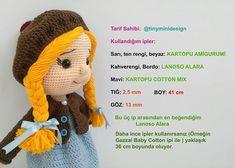 İşte kendimce yaptığım değişiklikler ve detayları ile Tonton kız.. . Bu güzel tarif için @tinyminidesign a teşekkürler..💕😊 (Peruk… Crochet Bebe, Knit Crochet, Crochet Hats, Crochet Doll Pattern, Crochet Dolls, Knit Shoes, Sweater Design, Knitted Shawls, Photo Tutorial