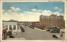 Hamilton Street; Dalton, Georgia