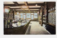 Provincetown Mass Advocate Postcard Shop Interior Postcard | eBay