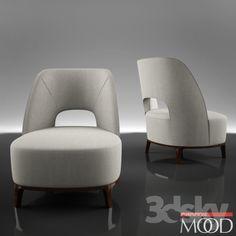 Flexform Mood Ermione armchair