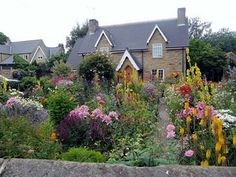 You can design your cottage garden to suit your climate and to reflect your favorite flowering plants.: Flowers from Spring Until Frost