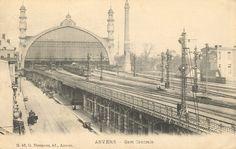 Antwerpen Centraal, sporen richting Berchem