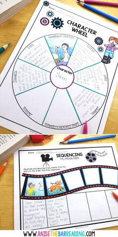 Engaging and Meaningful Fiction Reader Response for Elementary Students. Graphic organizers are so helpful in supporting students in reading fiction skills, such as sequencing, summarizing, analyzing Reading Centers, Reading Activities, Reading Skills, Teaching Reading, Teaching Spanish, Literacy Centers, Guided Reading, Reading Comprehension Strategies, Comprehension Questions