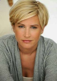 Short Haircuts for Women over 40 with Thick Hair