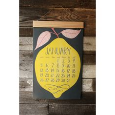So into this design on Fab! Giant Calendar, Calendar Girls, Calendar Ideas, Heart Graphics, Print Design, Graphic Design, Type Illustration, Collages, Christmas Gifts For Him