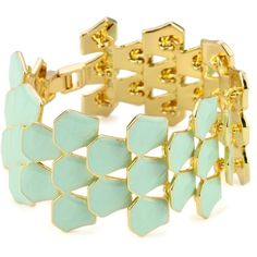 "Disney ""Little Mermaid"" Fish Scale Bracelet ($15) ❤ liked on Polyvore featuring jewelry, bracelets, disney jewellery, disney jewelry, fish jewelry and disney"