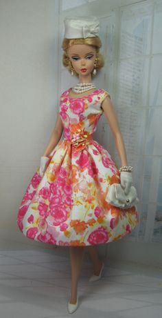 Summer Print / Matisse Fashions and Doll Patterns ~ Real Clothes for Fashion Dolls