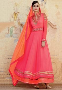 Abaya Style #Suit in Pink