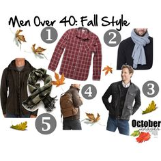 Men Over 40: Fall Style by writrams, via Polyvore