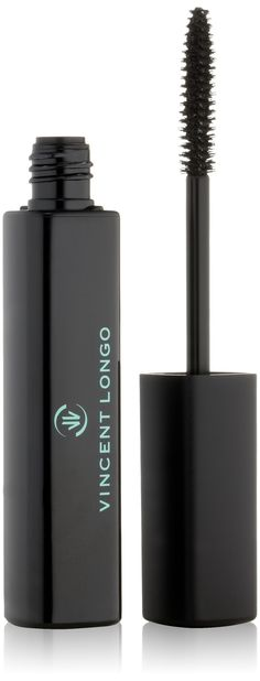 VINCENT LONGO Volume Plus Mascara, Black. Brush intensely coats lashes. Creamy long lasting, flake-proof formula. Extracts promote lash growth and density. Peptides prevent damage, rose water conditions. Gluten free, paraben free.
