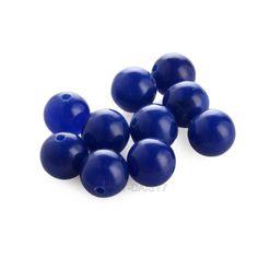 40-Lampworkperlen-6mm-Lose-Perlen-Edelstein-Spacer-Beads-zum-Basteln-DIY-Schmuck